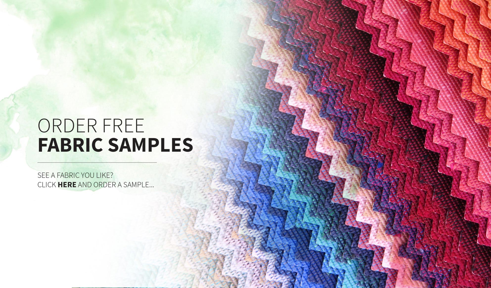 Order free fabric samples