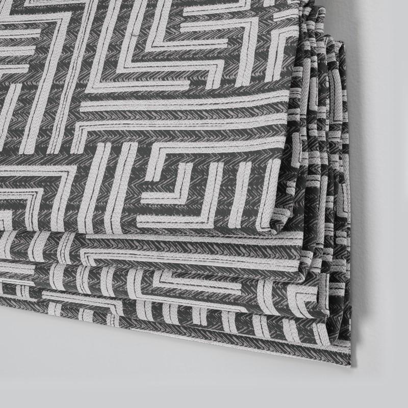 Maze Noir Roman Blind Style Studio