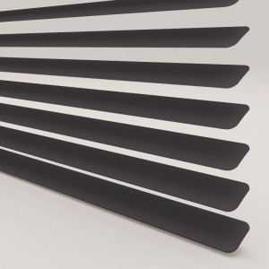 Style Studio Matt Black Venetian Blind 25mm