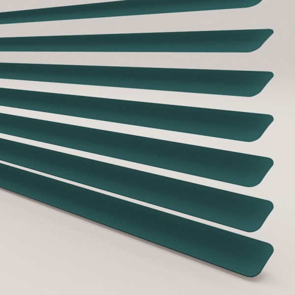Style Studio Bottle Green Venetian Blind 25mm