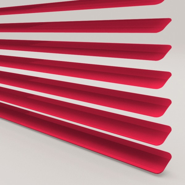 Style Studio Fire Engine Red Venetian Blind 25mm
