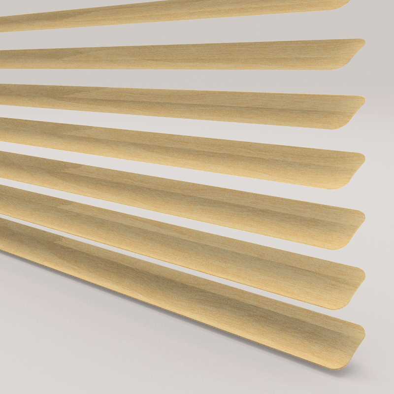 Wood Effect Pine Venetian Blind Style Studio