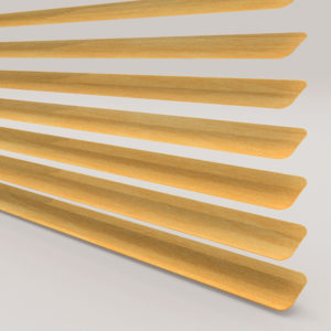 Style Studio Wood Effect Beech Venetian Blind