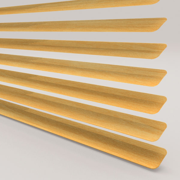 Style Studio Wood Effect Beech Venetian Blind