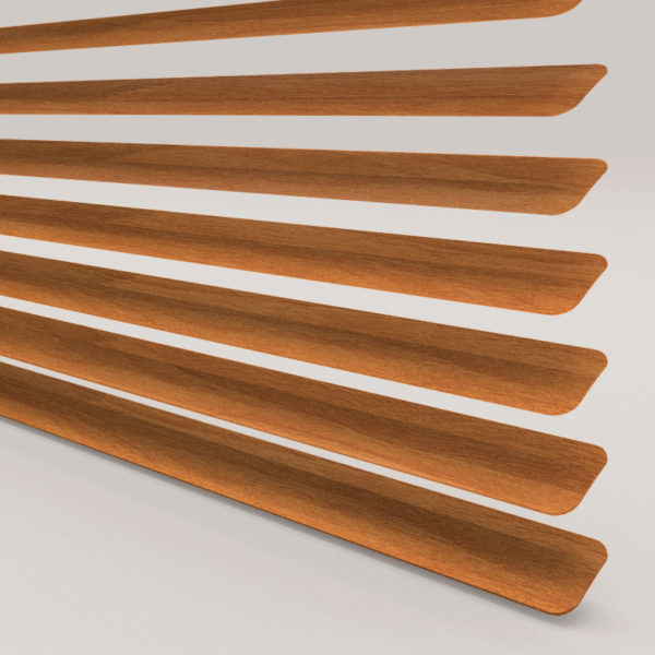 Style Studio Wood Effect Chestnut Venetian Blind