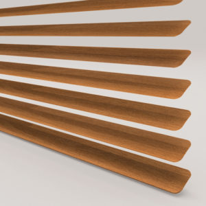 Style Studio Wood Effect Teak Venetian Blind