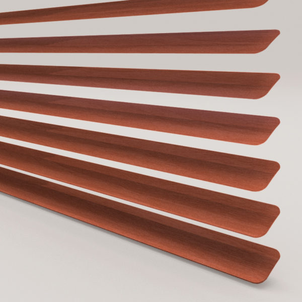 Style Studio Wood Effect Walnut Venetian Blind