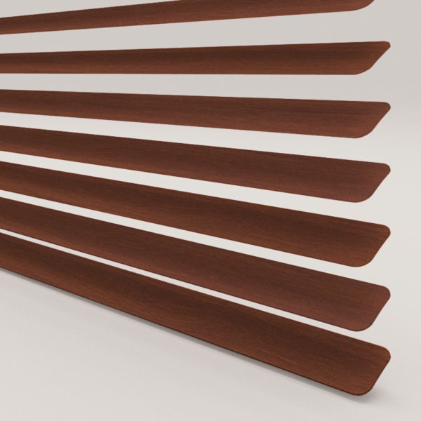 Style Studio Wood Effect Mahogany Venetian Blind