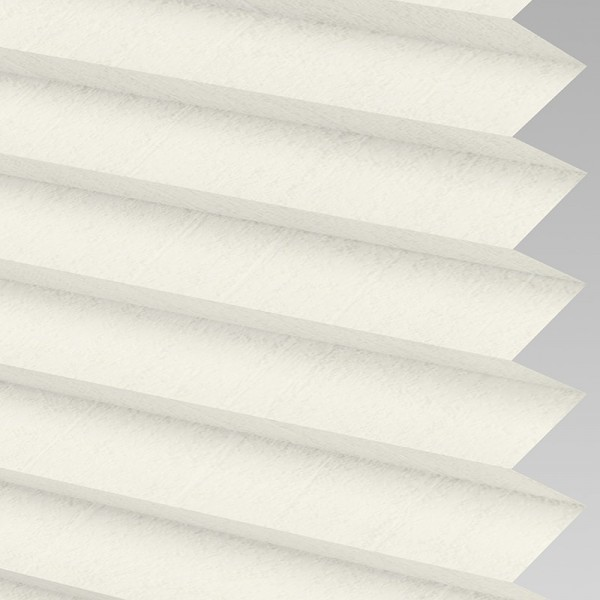 Style Studio WOODBARK ASC White Oak Pleated Blind