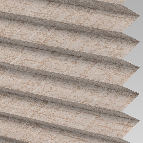 Style Studio WOODBARK ASC Chestnut Pleated Blind
