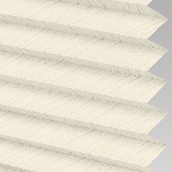 Style Studio CHENILLE ASC Cream Pleated Blind