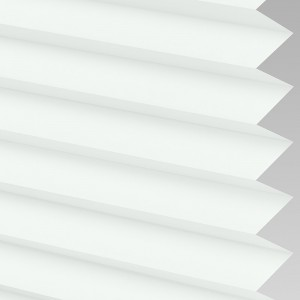 Style Studio INFUSION White Pleated Blind