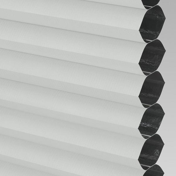 Style Studio HIVE BLACKOUT FR White Cellular Blind