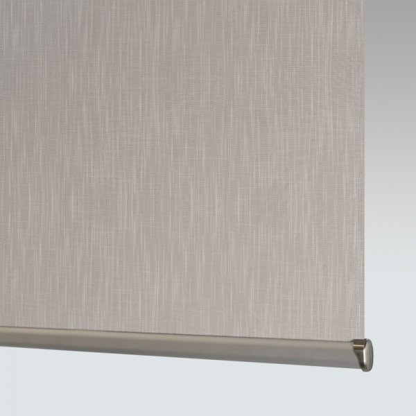 Style Studio Shantung Silver Roller Blind