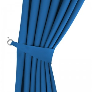 Oasis Electric Blue Curtain