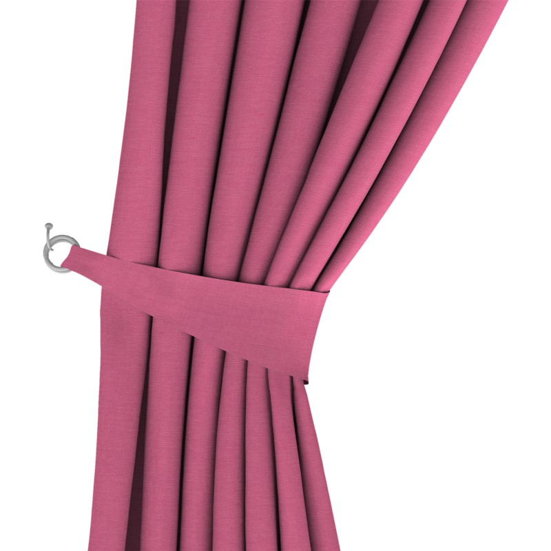 Boulevard Magenta Colour Made to measure Curtains Style