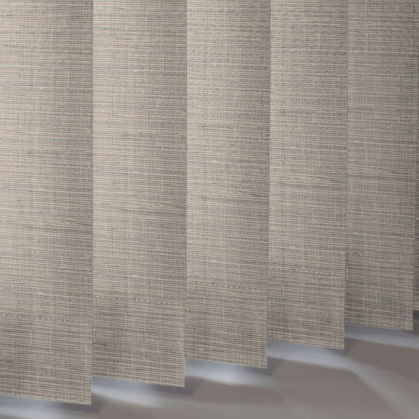 Style Studio Canvas Buff Vertical Blind