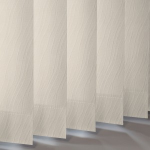 Style Studio Chenille Cream Vertical Blind