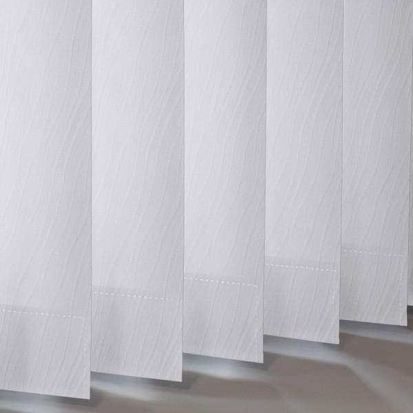 Style Studio Chenille Snocap Vertical Blind