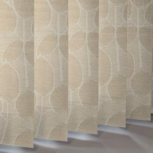 Style Studio Foliage Reflex Pine Vertical Blind