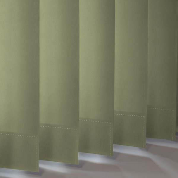 Style Studio Palette Green Vertical Blind