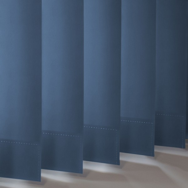 Style Studio Palette Denim Vertical Blind