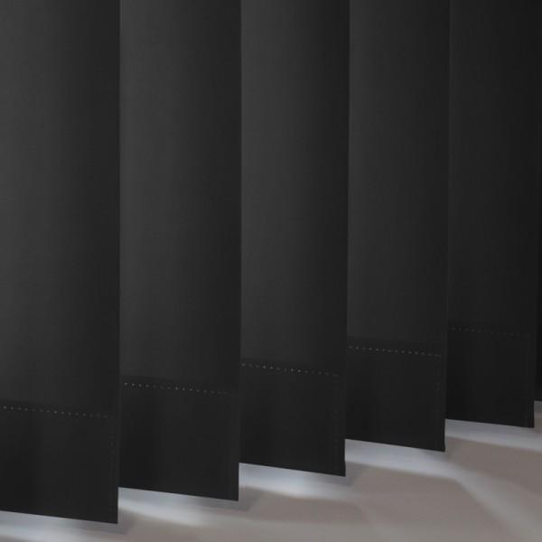Style Studio Palette Black Vertical Blind