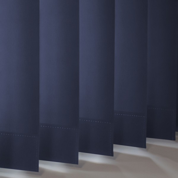 Style Studio Palette Dark Blue Vertical Blind
