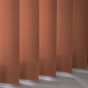 Style Studio Palette Copper Vertical Blind