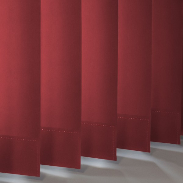 Style Studio Palette Redcurrant Vertical Blind