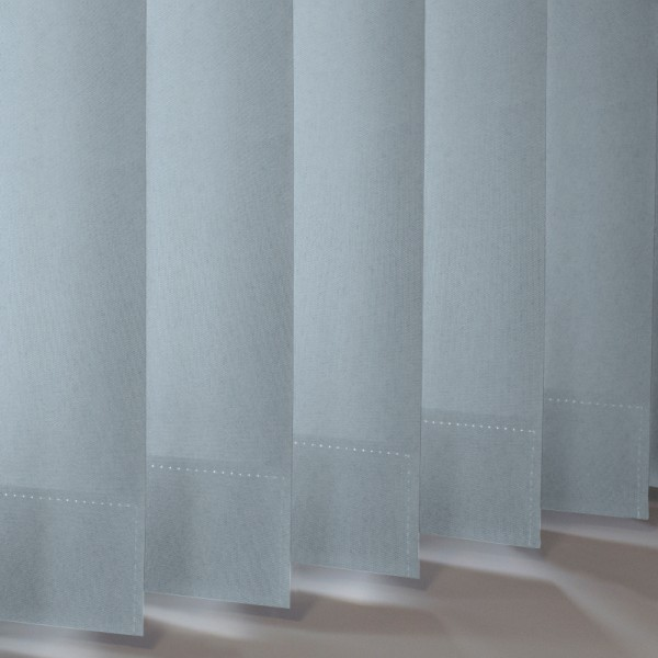Style Studio Palette Smokey Blue Vertical Blind