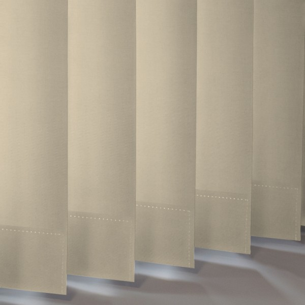 Style Studio Banlight Duo FR Beige Vertical Blind