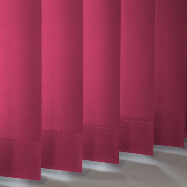 Style Studio Banlight Duo FR Fuschia Vertical Blind