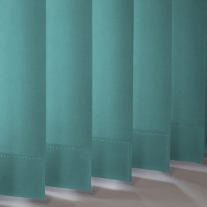 Style Studio Banlight Duo FR Turquoise Vertical Blind