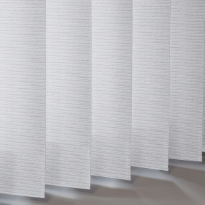Style Studio Glint Silver Vertical Blind