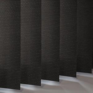 Style Studio Glint Black Vertical Blind