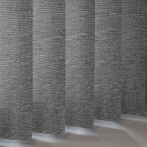 Style Studio Canvas Onyx Vertical Blind