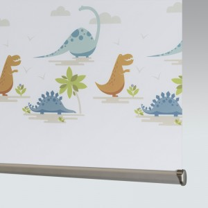Style Studio Dino Valley Blackout Adventure Roller Blind