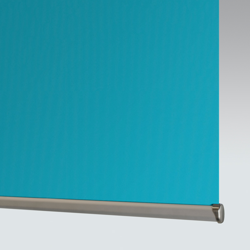 Palette XL Kingfisher Roller Blind Fire Retardant