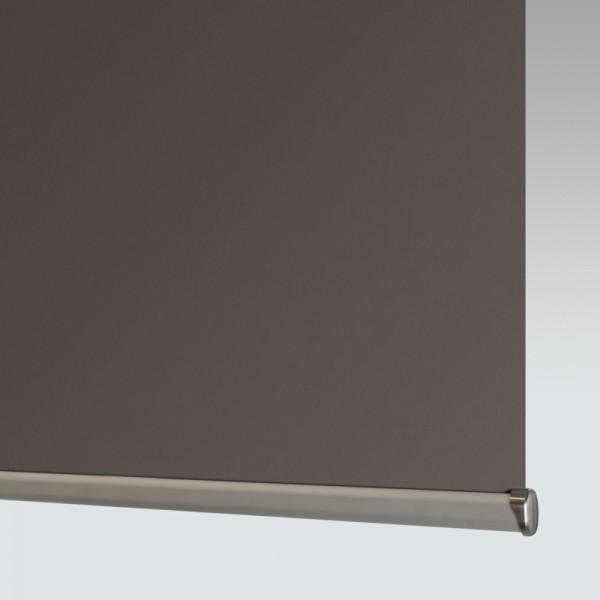 Style Studio Banlight Duo FR Espresso Roller Blind