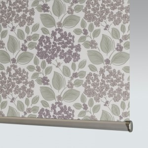 Style Studio Hydrangea Grape Roller Blind