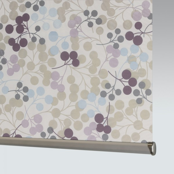 Style Studio Burst Grape Roller Blind