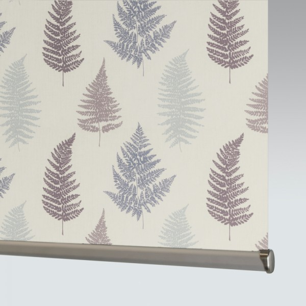 Style Studio Fern Grape Roller Blind