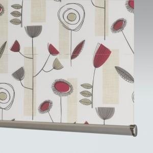 Style Studio Portobello Redcurrant Roller Blind