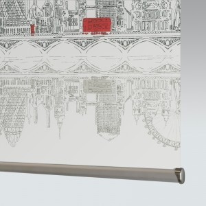 Style Studio Skyline London Roller Blind