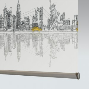 Style Studio Skyline New York Roller Blind