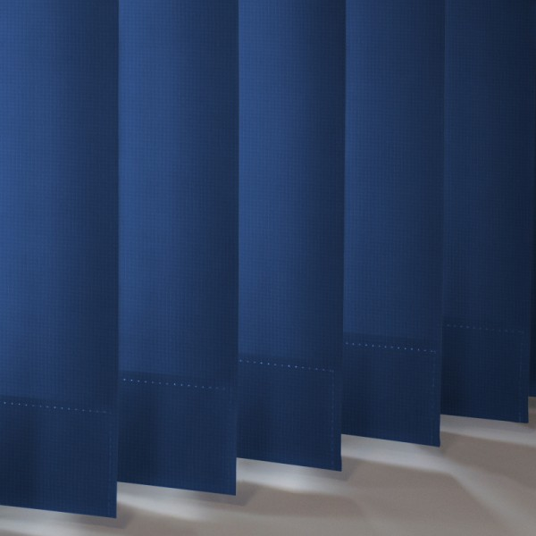 Style Studio Atlantex Dark Blue Vertical Blind