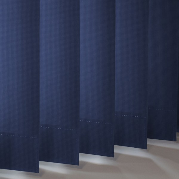 Style Studio Atlantex Navy Vertical Blind