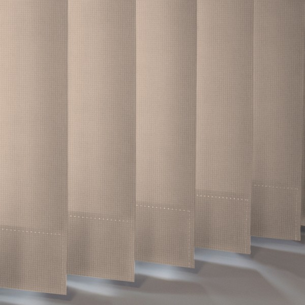 Style Studio Atlantex asc Dark Beige Vertical Blind