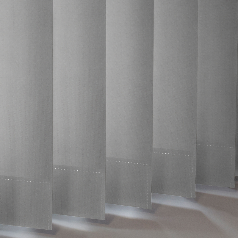 Grey Vertical Blackout Blind Banlight Fr Blinds Style